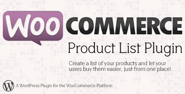 Πως να δημιουργήσετε λίστα προϊόντων στο Woocommerce